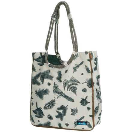 Kavu Market Bag (For Women) in Snow Timber - Closeouts