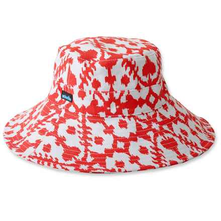Kavu Mary Lou Sun Hat (For Women) in Hot Blot - Closeouts