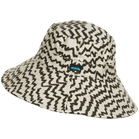 Kavu Mary Lou Sun Hat (For Women) in Natural Beats