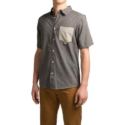 Kavu Melvin Shirt - Short Sleeve (For Men) in Black - Closeouts
