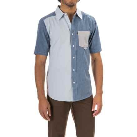 Kavu Melvin Shirt - Short Sleeve (For Men) in Dream Blue - Closeouts