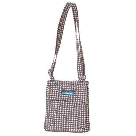 Kavu Mini Keeper Bag (For Women) in Houndstooth - Closeouts