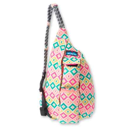 Kavu Mini Rope Bag (For Women) in Spring Montage - Closeouts