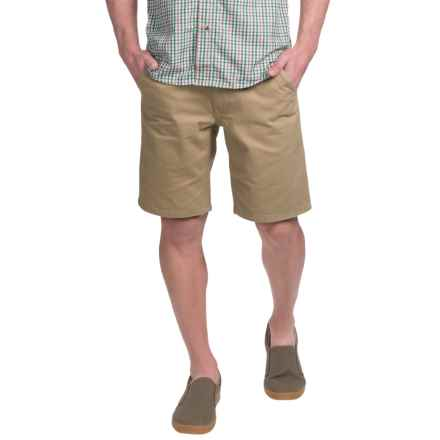 Kavu Mojo Lite Canvas Shorts (For Men) in Khaki - Closeouts