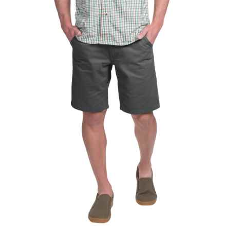 Kavu Mojo Lite Canvas Shorts (For Men) in Shadow - Closeouts