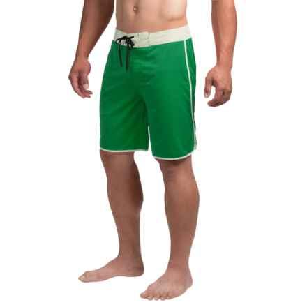 Kavu Nachorito Boardshorts (For Men) in Evergreen - Closeouts