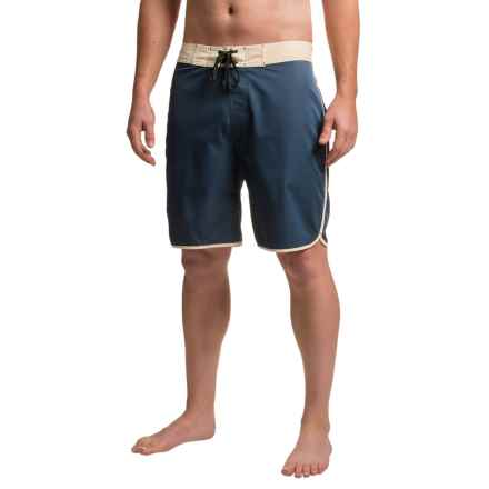 Kavu Nachorito Boardshorts (For Men) in Navy - Closeouts