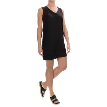 Kavu Pacific Coast Dress - V-Neck, Sleeveless (For Women) in Black - Closeouts
