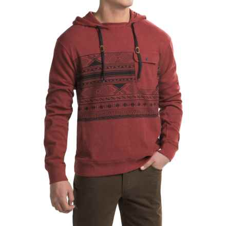Kavu Palmer Hoodie (For Men) in Brick - Closeouts