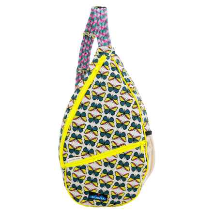 Kavu Paxton Canvas Sling Pack (For Women) in Butterfly - Closeouts