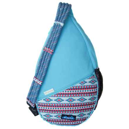Kavu Paxton Canvas Sling Pack (For Women) in Desert Retreat - Closeouts