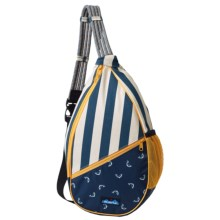 Kavu Paxton Canvas Sling Pack (For Women) in Fly Fish - Closeouts