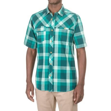 Kavu Pemberton Shirt - Short Sleeve (For Men) in Deep Teal