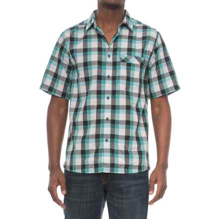 Kavu Plaid Single-Pocket Shirt - Short Sleeve (For Men) in Trustus Everglade - Closeouts