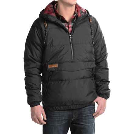 Kavu Puff N Stuff Jacket - Insulated, Zip Neck (For Men) in Black - Closeouts