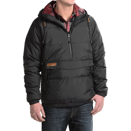 Kavu Puff N Stuff Jacket - Insulated, Zip Neck (For Men) in Black