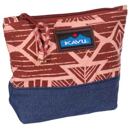 Kavu Quick Zip Pouch (For Women) in Bedrock - Closeouts
