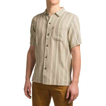 Kavu Roland Shirt - Short Sleeve (For Men) in Cloudy Skies - Closeouts