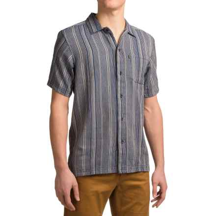 Kavu Roland Shirt - Short Sleeve (For Men) in Navy - Closeouts