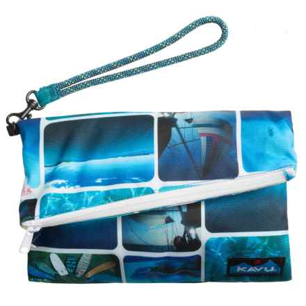 Kavu Roll-Up Clutch Purse (For Women) in Busy Livin - Closeouts