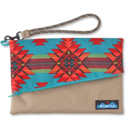 Kavu Roll-Up Clutch Purse (For Women) in Mojave Oasis - Closeouts