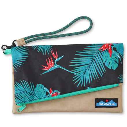 Kavu Roll-Up Clutch Purse (For Women) in Paradise - Closeouts