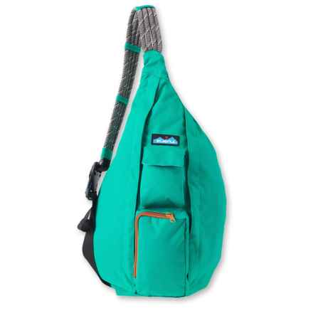 Kavu Rope Sling Bag (For Women) in Baltic - Closeouts