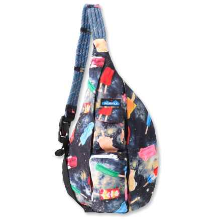 Kavu Rope Sling Bag (For Women) in Space Pop - Closeouts