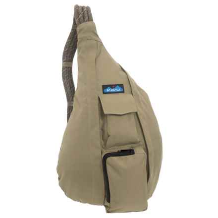 Kavu Rope Sling Bag (For Women) in Taupe - Closeouts