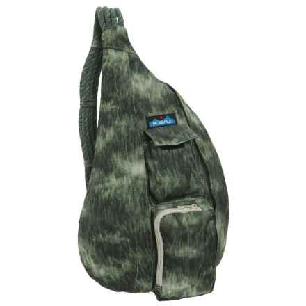 Kavu Rope Sling Bag (For Women) in Wilderness - Closeouts