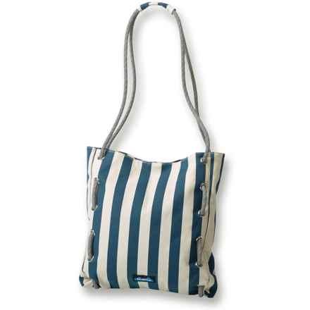 Kavu Roper Bag (For Women) in Nautical Stripe - Closeouts