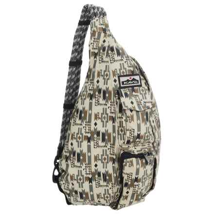 Kavu Ropette Sling Bag (For Women) in Earth Tribal - Closeouts