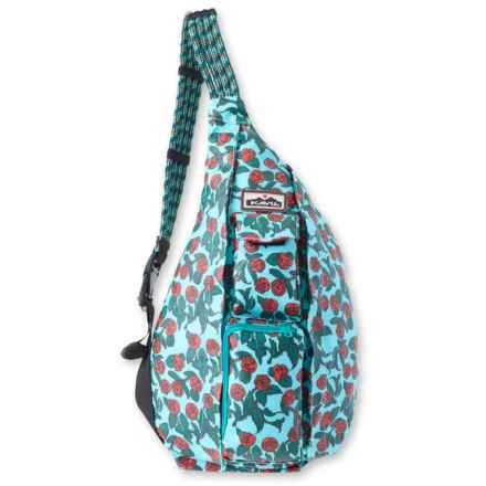 Kavu Ropette Sling Bag (For Women) in Red Rose - Closeouts