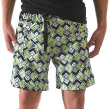Kavu Sandin Shorts (For Men) in Lime Geo - Closeouts