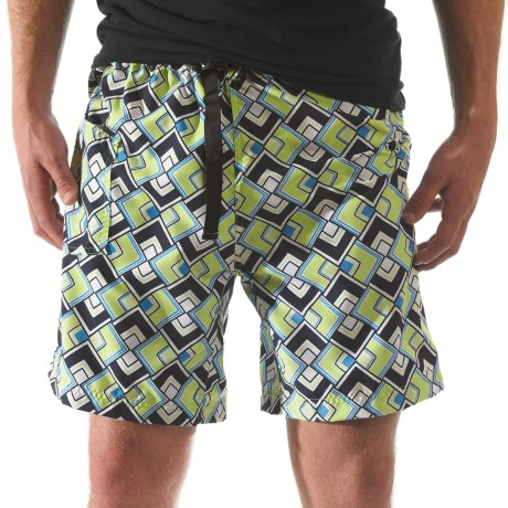 Kavu Sandin Shorts (For Men) in Woodgrain