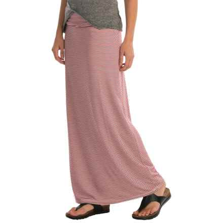 Kavu Sanjula Maxi Skirt (For Women) in Brick - Closeouts