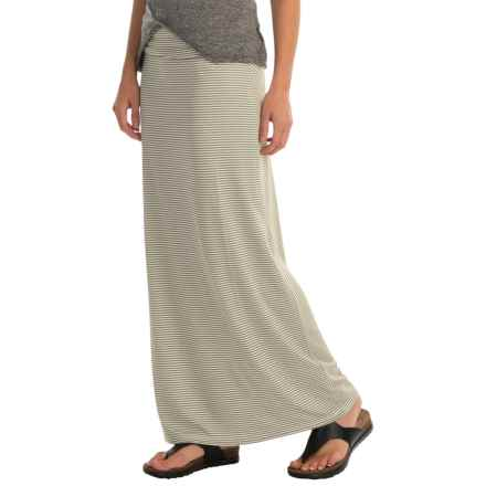 Kavu Sanjula Maxi Skirt (For Women) in Olive - Closeouts