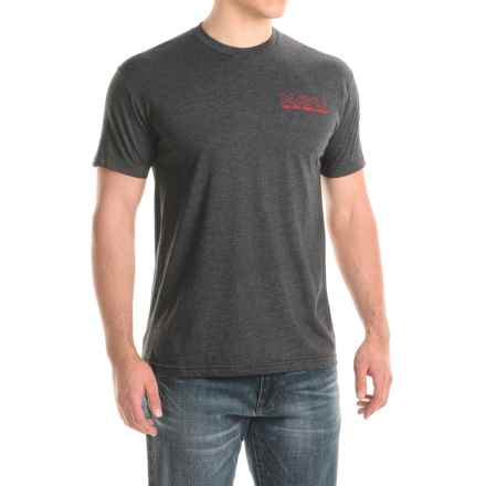 Kavu Scenic Byway T-Shirt - Short Sleeve (For Men) in Black Smoke - Closeouts