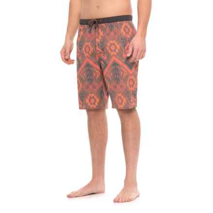 Kavu Sea Legs Boardshorts (For Men) in Earth Ikat - Closeouts
