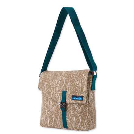 Kavu Side Show Shoulder Bag (For Women) in Palmetto - Closeouts
