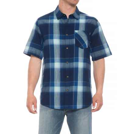 Kavu Solstice Shirt - Short Sleeve (For Men) in Navy - Closeouts