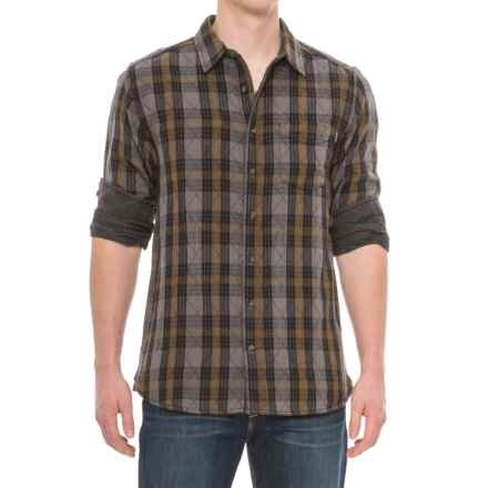 Kavu Stanwood Woven Plaid Shirt - Reversible, Long Sleeve (For Men) in Army - Closeouts
