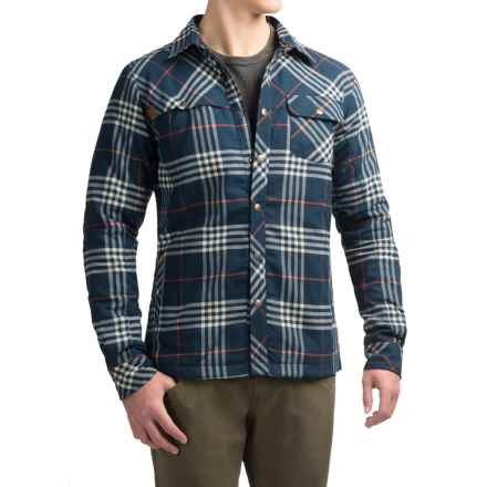 Kavu Stewart Flannel Shirt - UPF 30+, Long Sleeve (For Men) in Navy - Closeouts
