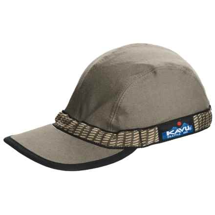 Kavu Strap Cap (For Men and Women) in Olive - Closeouts