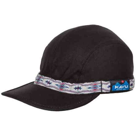 Kavu Strapcap (For Men and Women) in Black - Closeouts