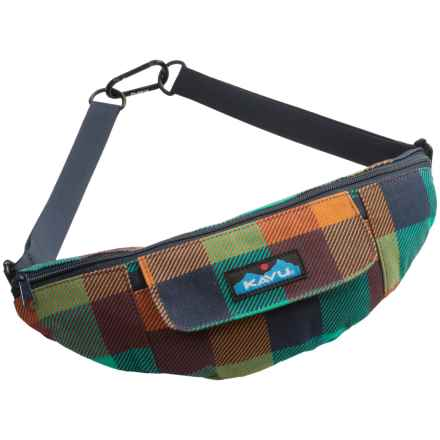 Kavu Stroll Around Pack (For Women) in Check It - Closeouts