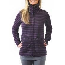 Kavu Sweet Pea Jacket - High Collar (For Women) in Plum - Closeouts