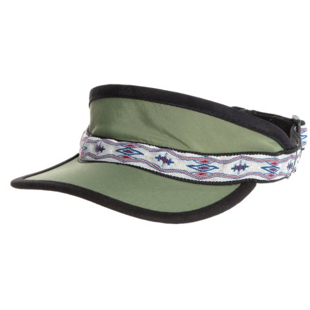69ed6227b77 Kavu Synthetic Strap Visor (For Women) in Moss - Closeouts