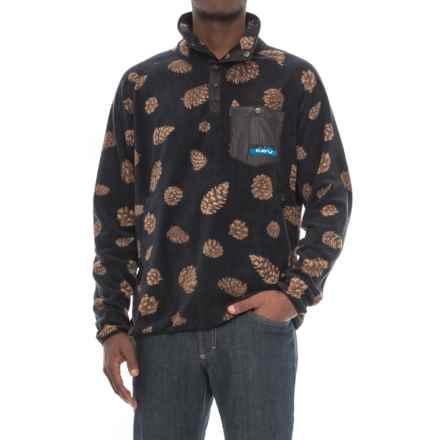 Kavu Teannaway Fleece Sweatshirt (For Men) in Pine - Closeouts