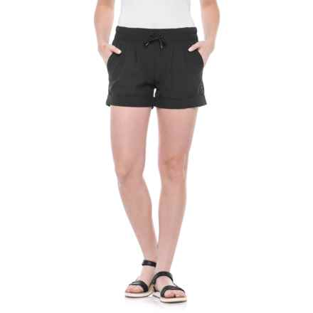 Kavu Tepic Drawstring Shorts (For Women) in Black - Closeouts